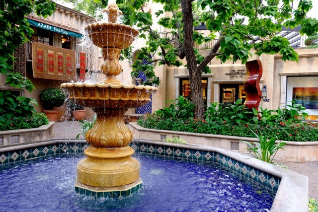 Sedona fountain