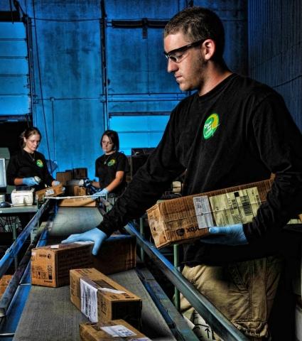 shipping department worker,arizona